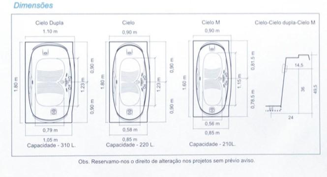 AQUAOSTRA EQUIPAMENTOS DE LAZER Maio 2011 -> Medidas Ideais Para Banheiro Com Banheira