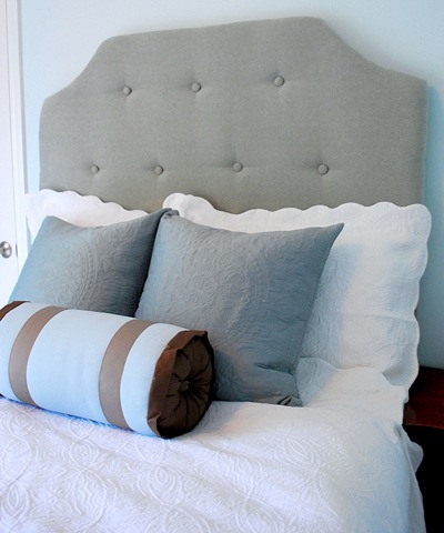 TDA decorating and design: DIY Upholstered Headboard