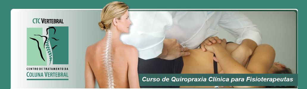 Curso de Quiropraxia Clínica para Fisioterapeutas