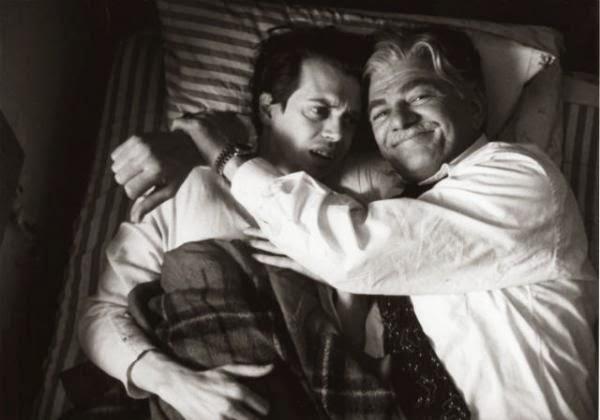 Seymour Cassel y Steve Buscemi en In the Soup