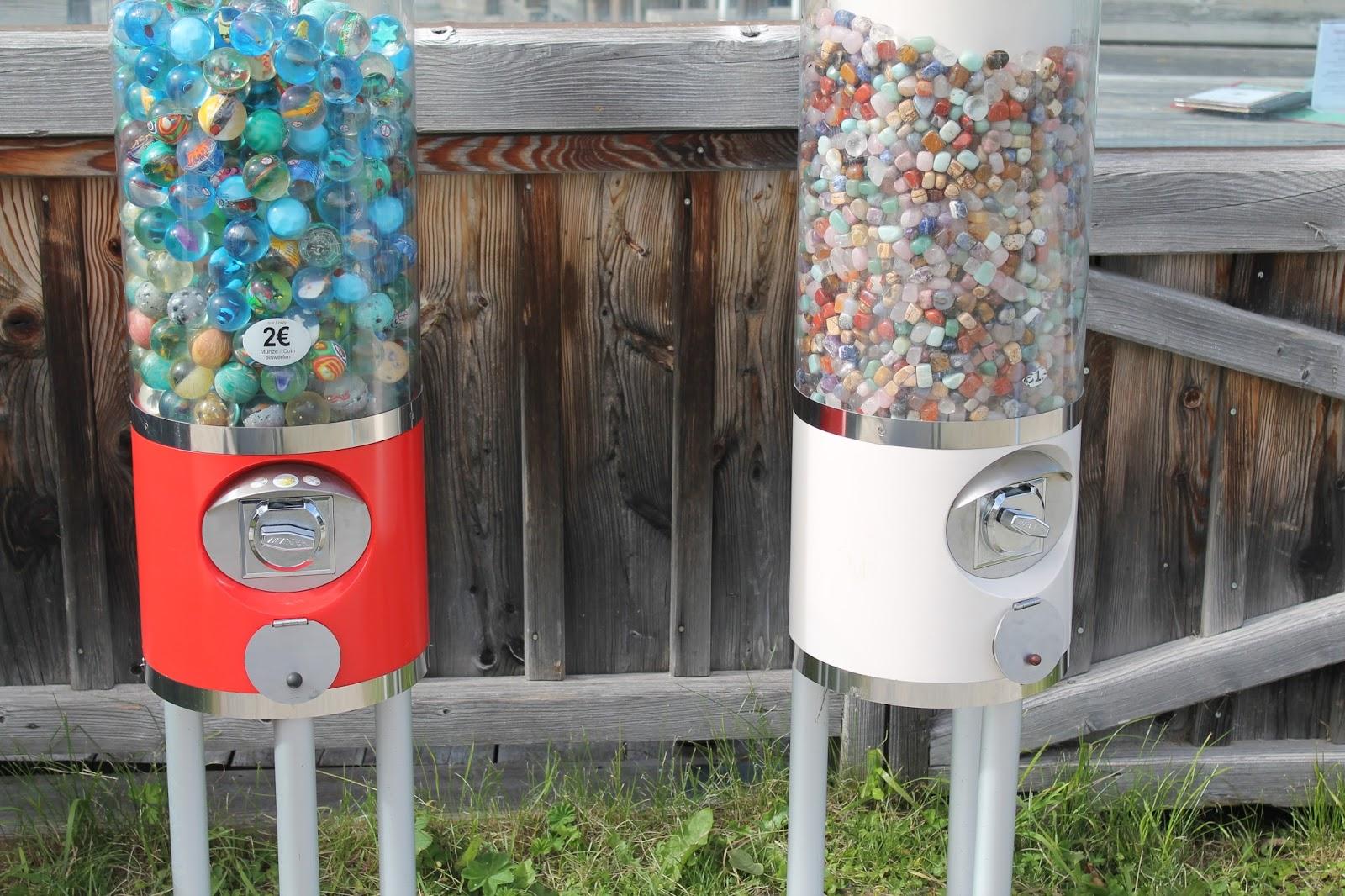 Edelsteine Flummis Automat