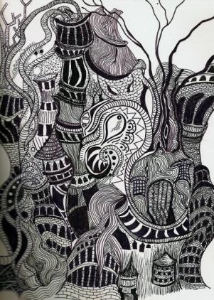 Рисунки гнездо