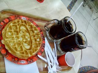 A&W waffle