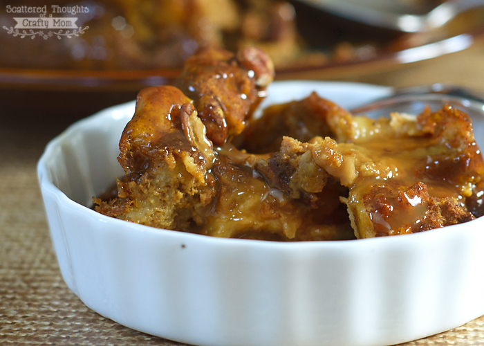 Caramel Bread Pudding Recipe Easy Bread Pudding Recipe