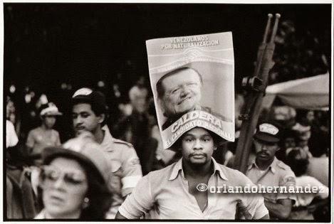 Rafael Caldera. Campaña electoral 2