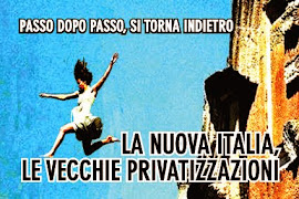 Il Governo Renzi vuole la privatizzazione dell'acqua. Chi l'avrebbe mai detto?!!!