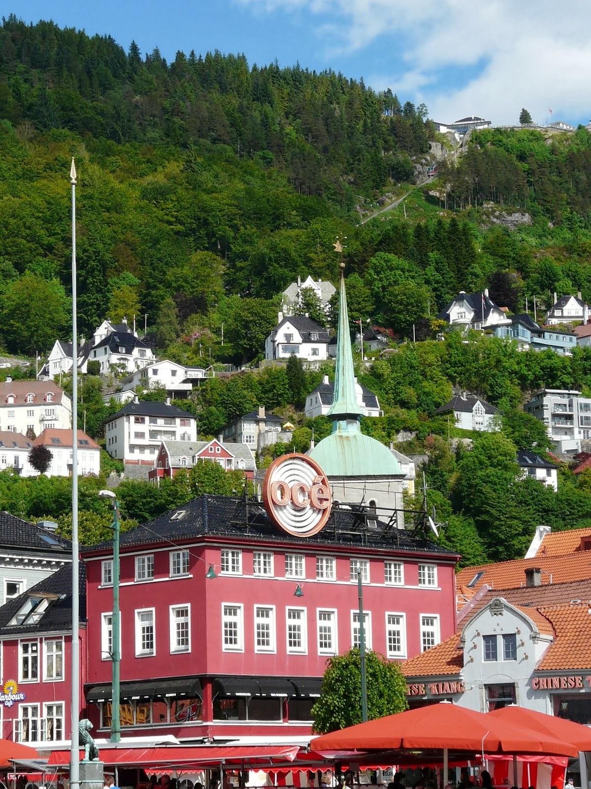 Voyage en Norvège : Bergen