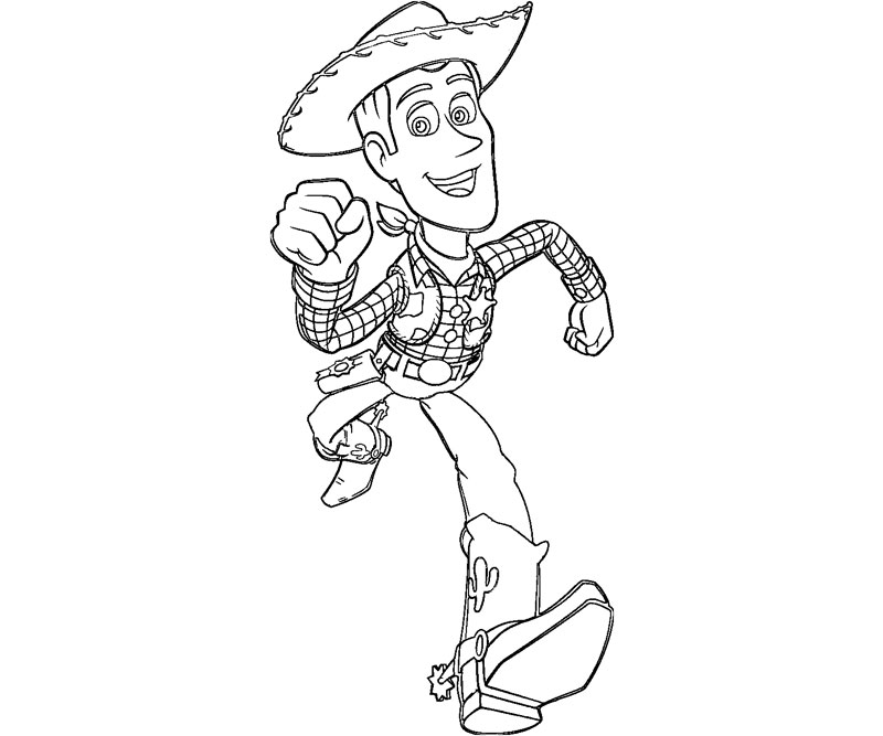 sheriff coloring pages - photo#10