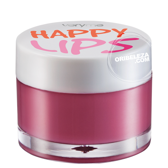 Bálsamo de Lábios Happy Lips Very Me Oriflame