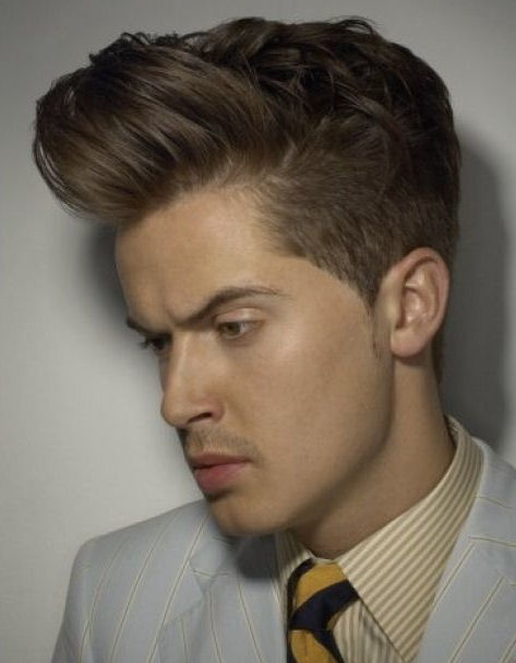 how to put your hair in a quiff