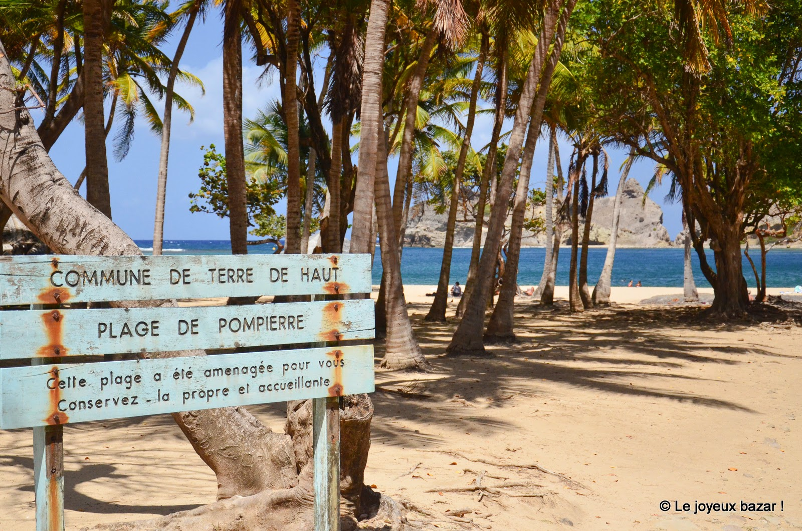 Guadeloupe - Les Saintes - Terre de Haut - plage de Pompierre