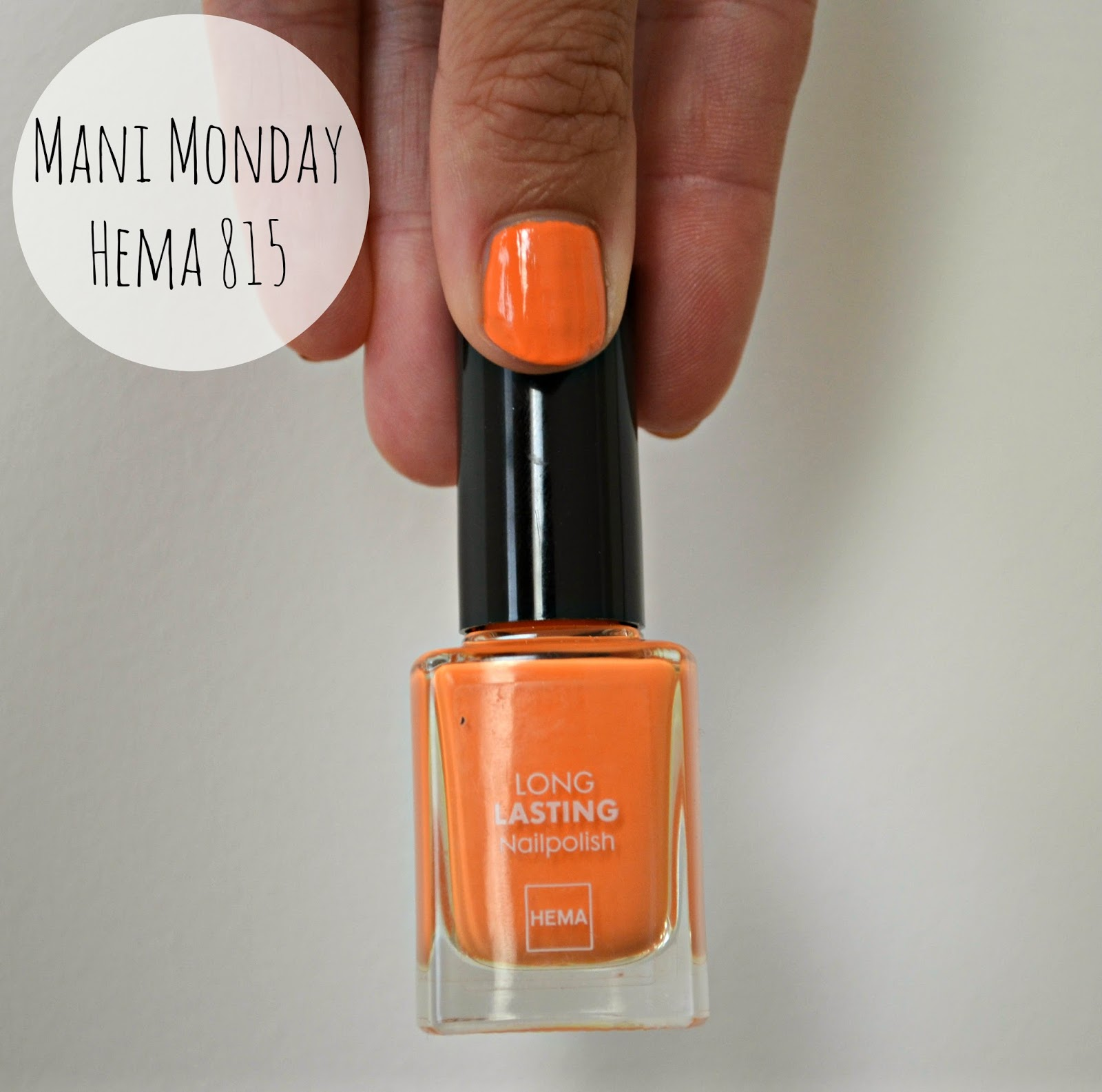 Hema Nail Polish 815 Orange