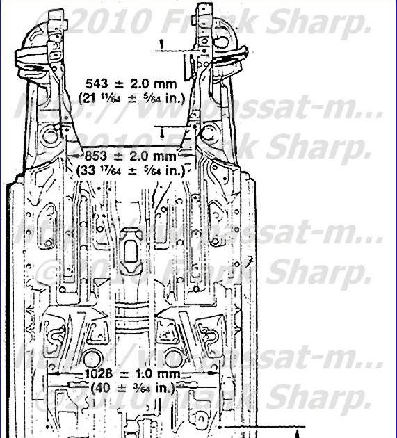 volkswagen passat  volkswagen passat 35i chassis structure