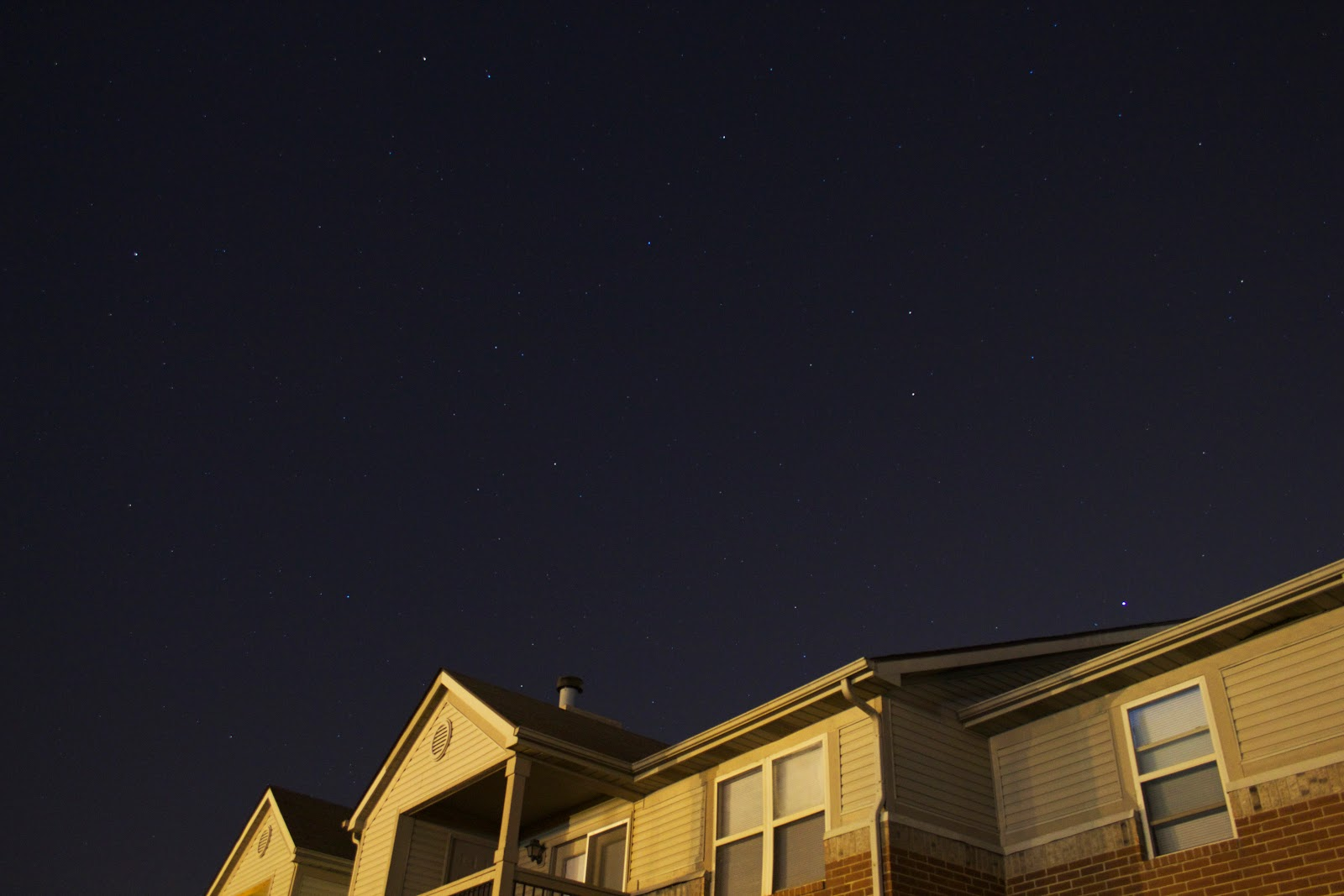 stars over roofline