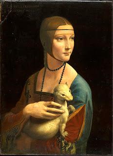 Dama com Arminho, por Leonardo da Vinci