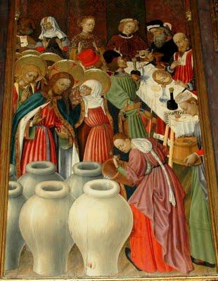Las bodas de Caná (Jn 2,1,11)
