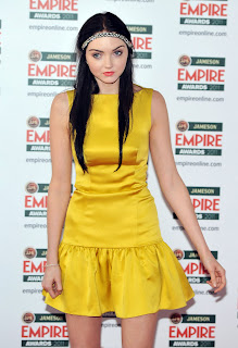 Lily Cole at the Empire Film Awards