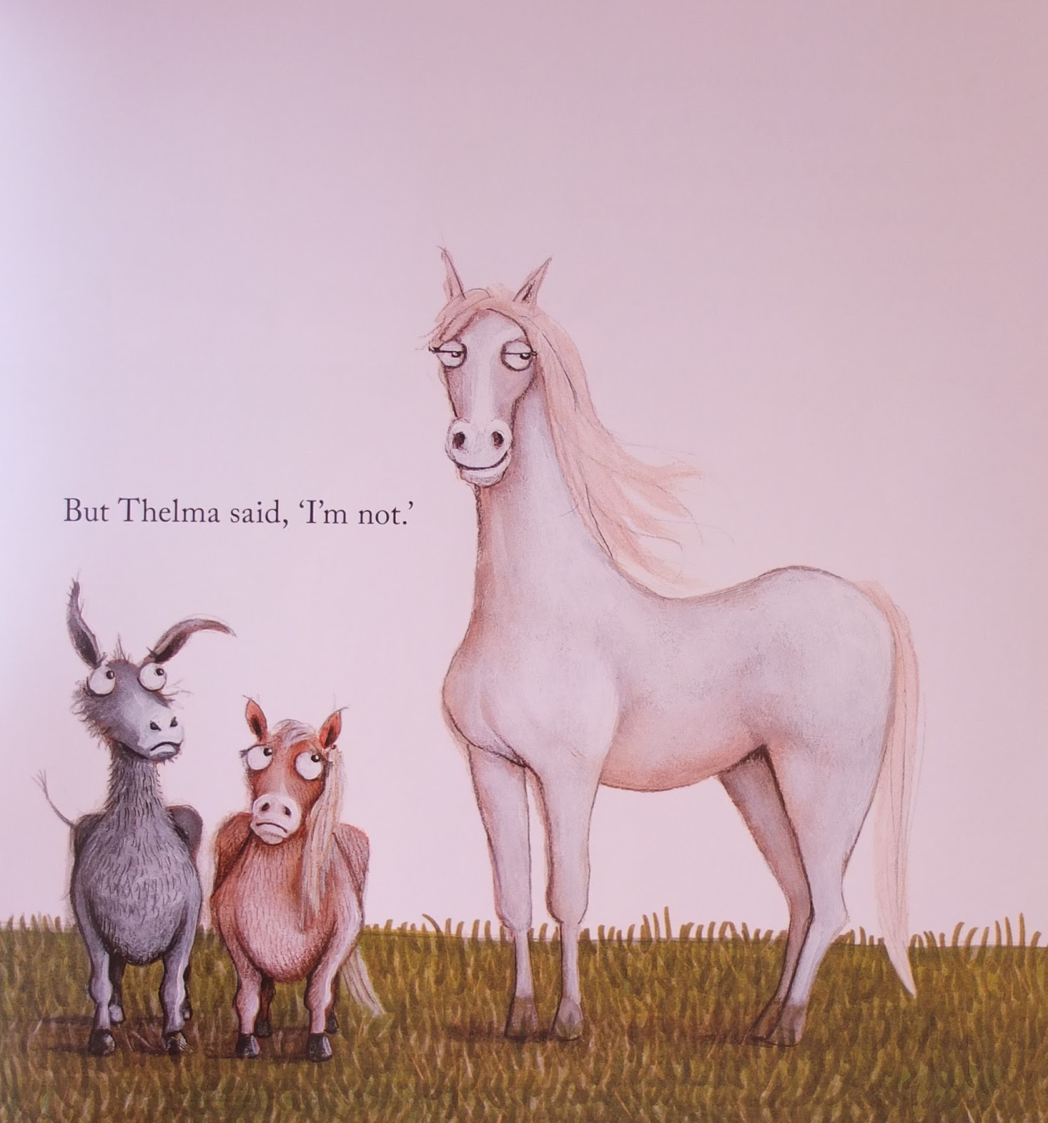 a strong belief in wicker thelma the unicorn