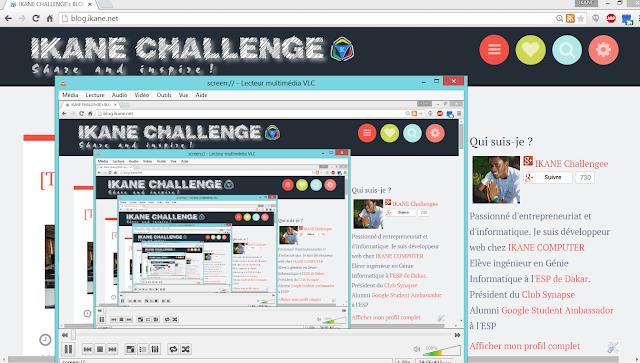 Exemple d'image récursive : le blog de IKANE CHALLENGE