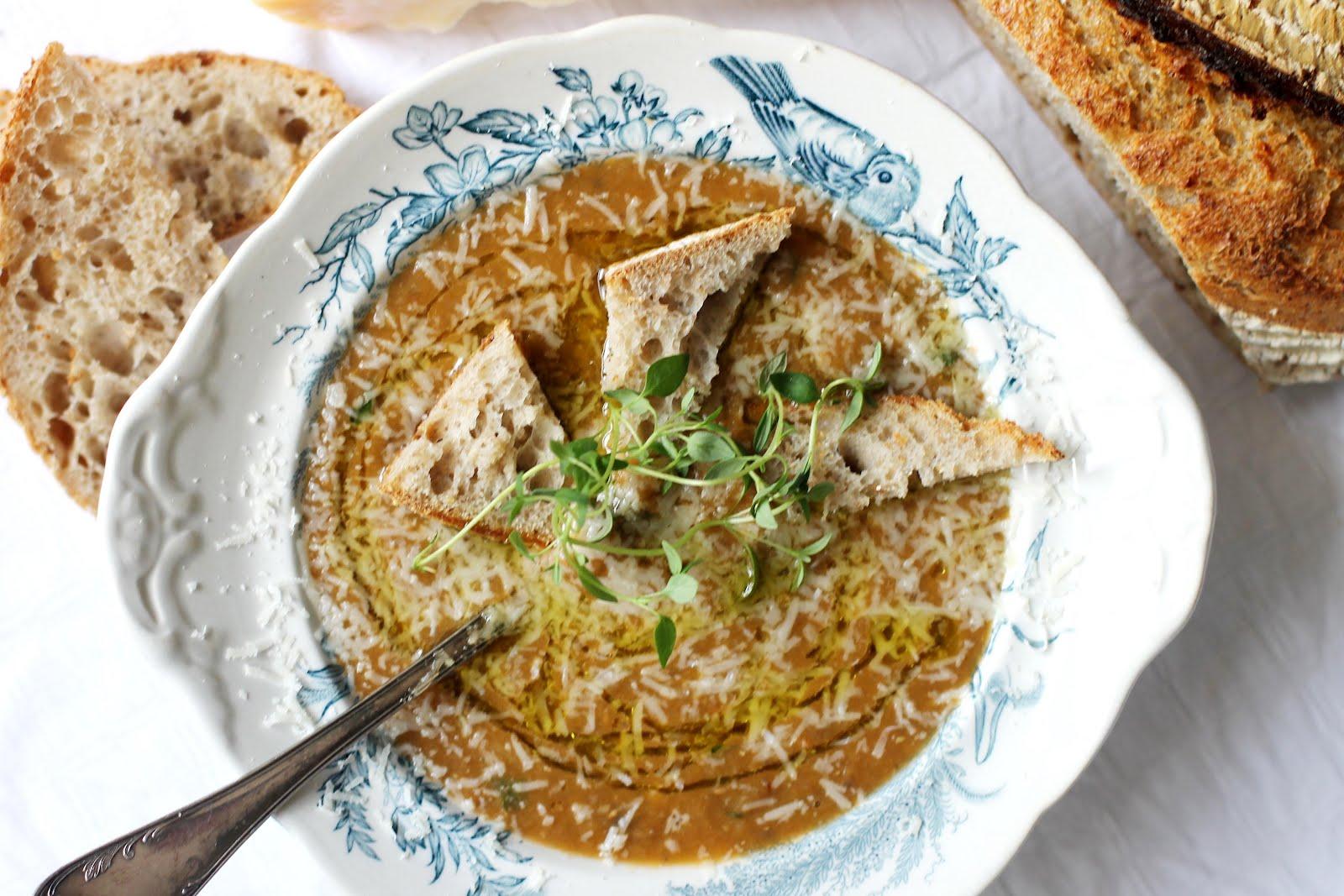italiensk linssoppa recept