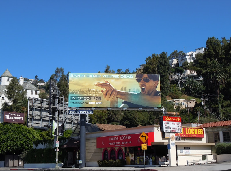NTSF:SD:SUV Adult Swim billboard