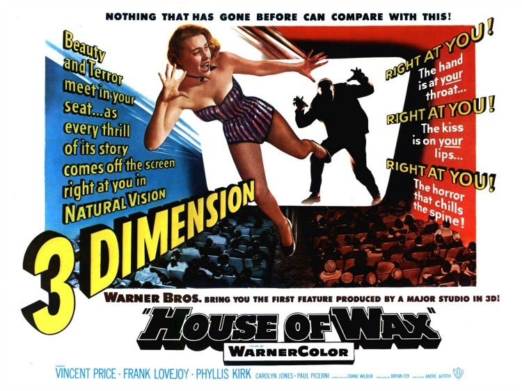 A Vintage Nerd, Vintage Blog, Classic Film Blog, Classic Suspense Movies, Old Hollywood Blog, House of Wax
