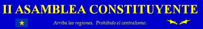 II  ASAMBLEA CONSTITUYENTE