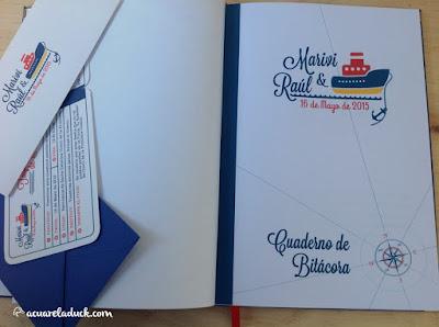 libro de firmas marinero