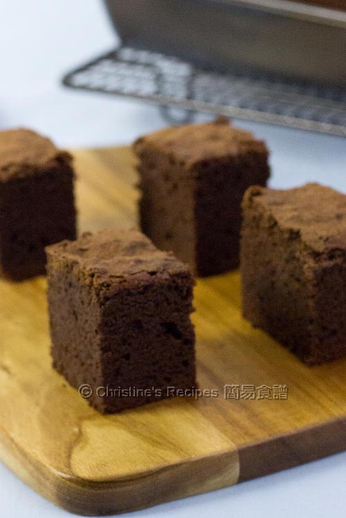 布朗尼【經典朱古力小蛋糕】Brownies