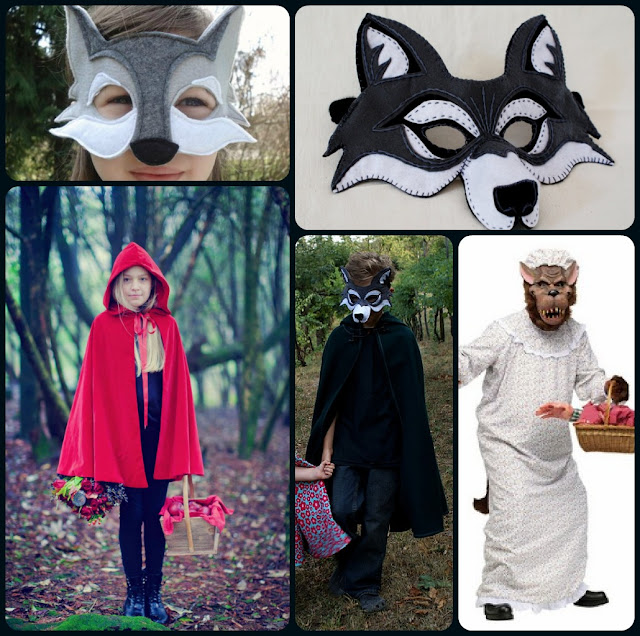 Little Red and Big Bad Wolf Costume Inspiration