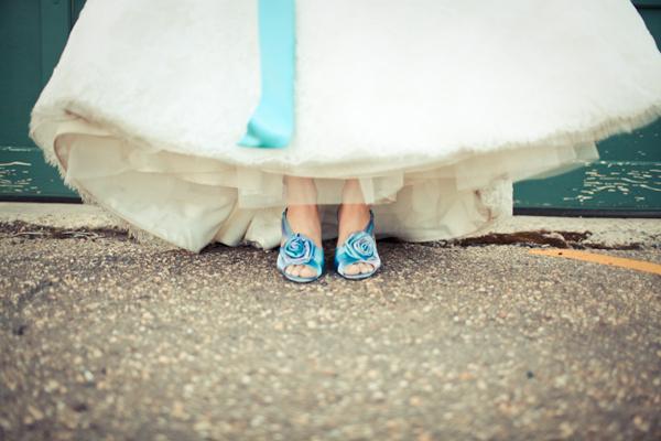 A Wedding Addict Glamorous Tiffany Blue Wedding Shoes