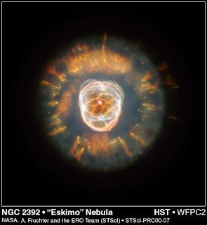 nebulosa esquimal eskimo nebulae