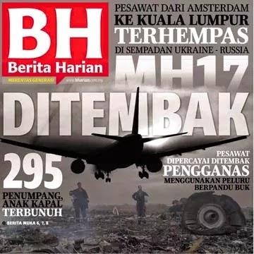 MH17 Ditembak Jatuh Di Ukraine