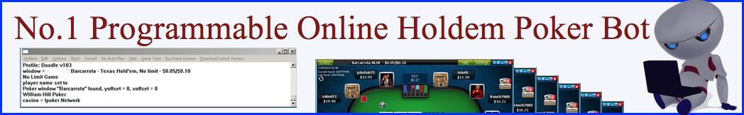 No.1 Programmable Online Poker Bot