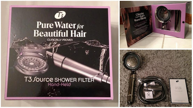 T3 Source Shower Filter Hand Held Shower Head
