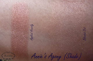 Notoriously Morbid Annies Agony Swatch