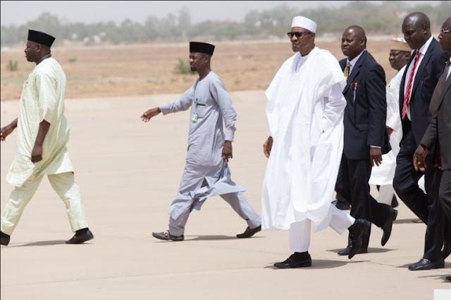 Muhammadu Buhari in Katsina