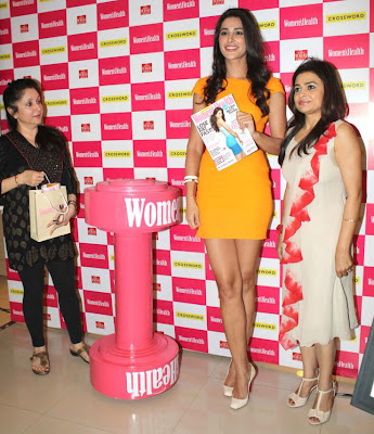 nargis fakhri launches womens health magazine hot photoshoot