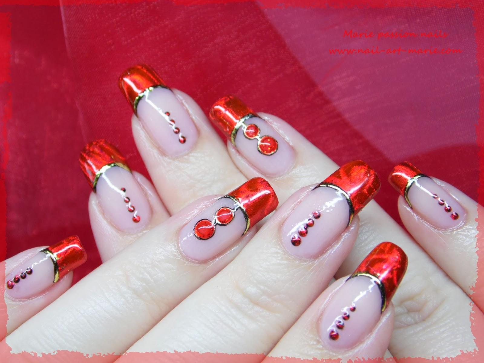 Nail art Saint Valentin6