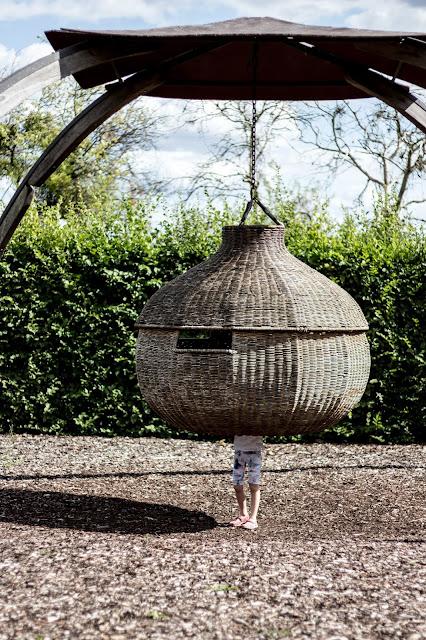 Garten der Sinne, Spielplatz, Schaukelnest