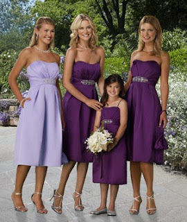 Forever Yours Collection Lavender Purple Bridesmaids Dress