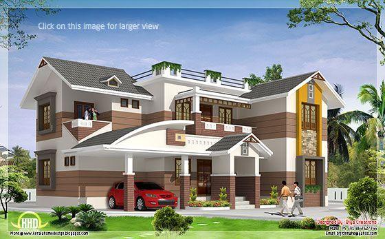 beautiful 4 BHK house