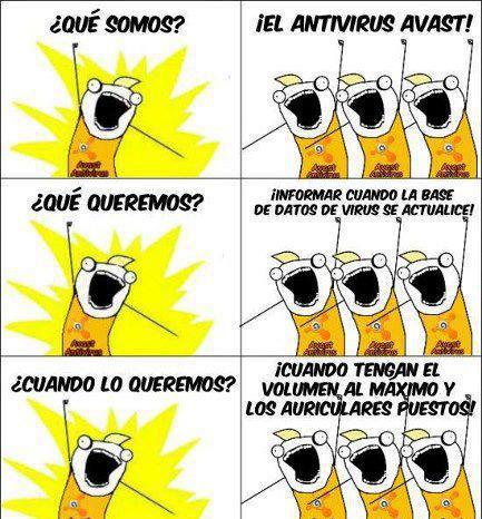 Antivirus Avast (Humor)
