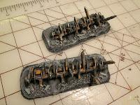 Painting Warhammer 40k Heavy Barricades