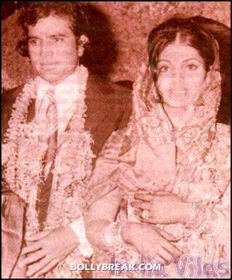 Rajesh Khanna Dimple Kapadia wedding - (6) - Remembering Rajesh Khanna - First Bollywood Superstar