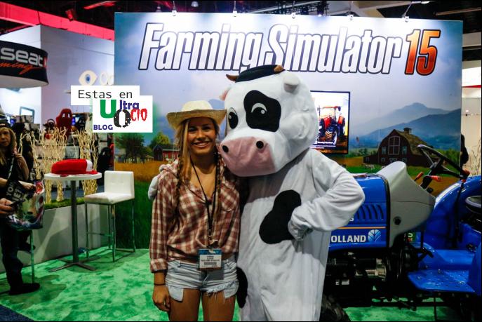 Cosplay Videojuegos simulador de granja