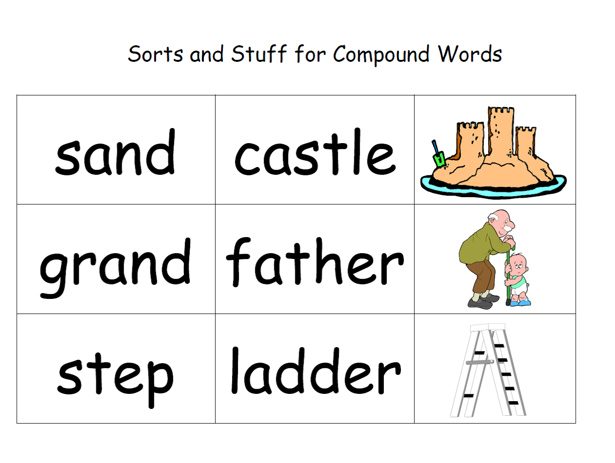 compound words Compound words worksheets for preschool and kindergarten these worksheets ask your kids to form common compound words in different ways and to dissect compound words into their components.