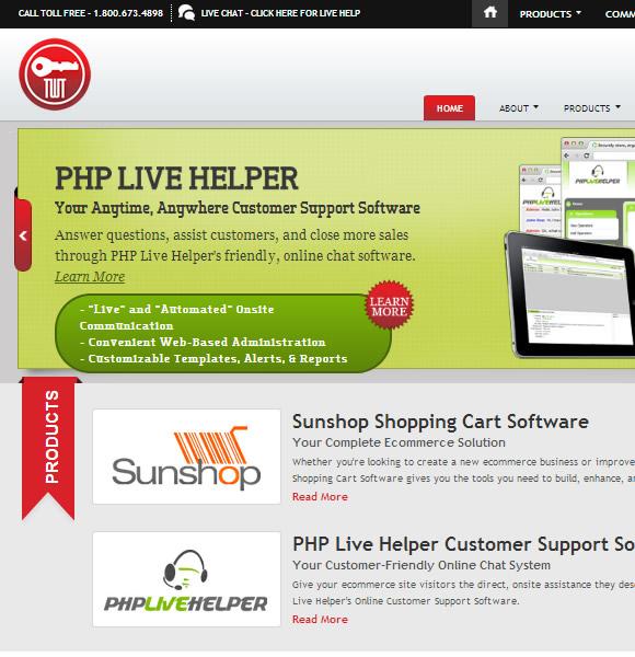 Ecommerce Website Name : Turn Key Web Tools