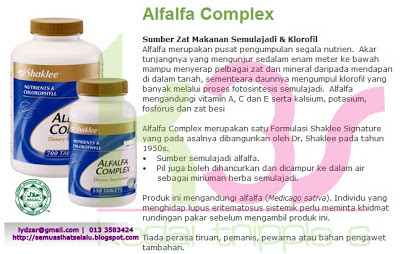 Afalfa Shaklee