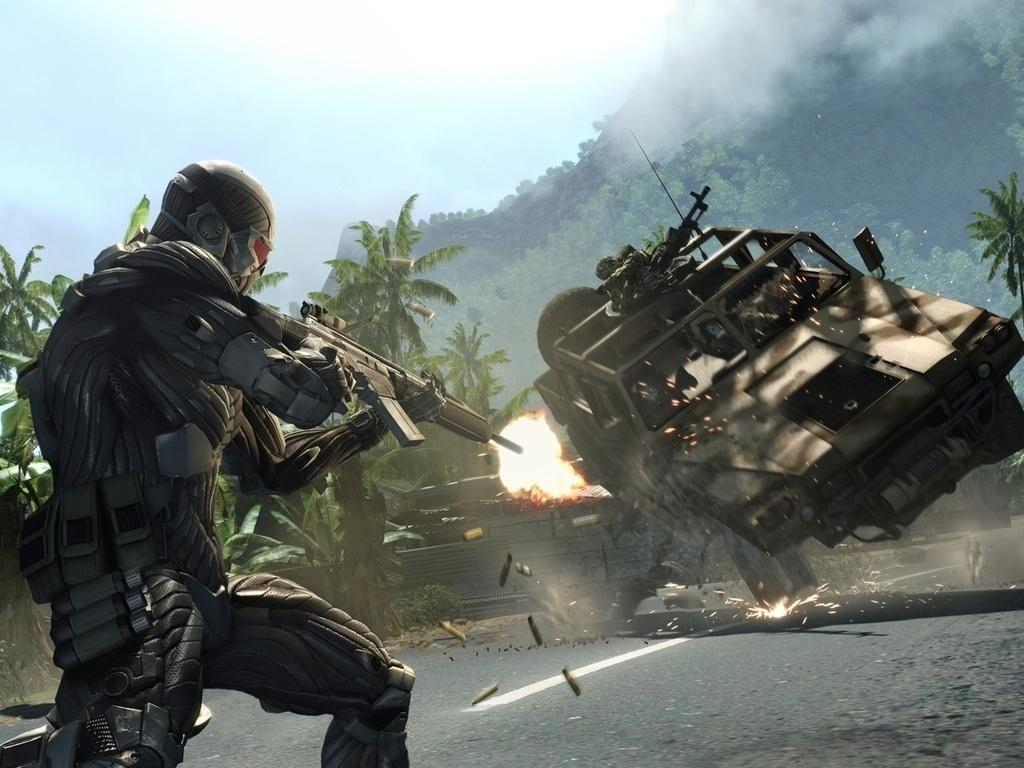 Crysis HD & Widescreen Wallpaper 0.135995571337268